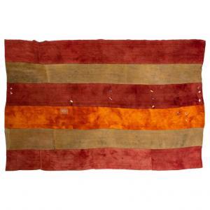 Antico tappeto- tessuto
