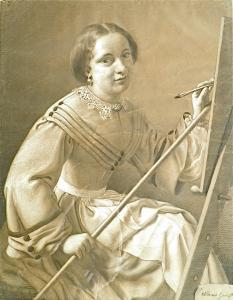 十六岁的自画像(1861年)