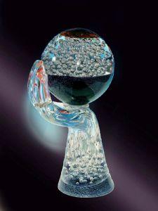 神的手-罗曼诺·唐纳大师的杰作(Murano玻璃雕塑,威尼斯)