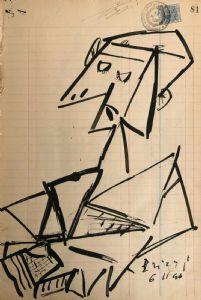 Studio di figura, 6 novembre 1946