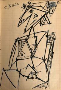 Studio di figura, 28 novembre 1946