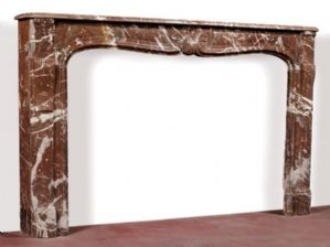 Marble fireplace cm. 190x118h