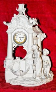 Table clock of early 20th century.