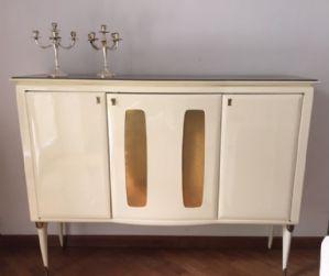 Mueble bar blanco