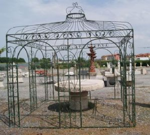 Gazebo in full iron