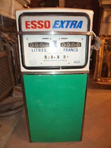 gas pump vintage circa 1960