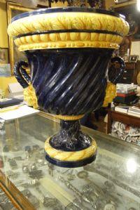 Vaso in ceramica, fornace Borzelli, Roma