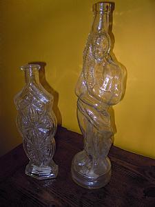 bottiglie portacandele napoletane