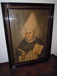 quadro con dipinto a pastello