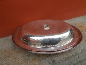 vegetable dish silver