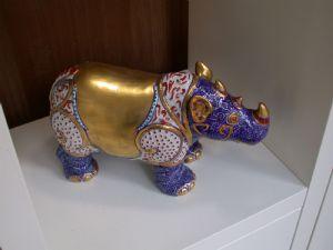 Rhino Porcelain