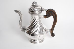 silver coffee pot Genova 1772