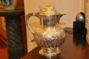 coffeepot argent