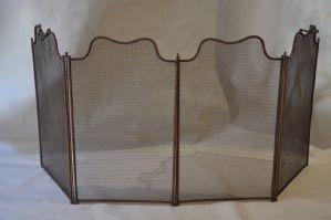 parascintille in rete armonica e telaio in ferro