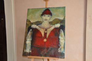 Dipinto Pierrot