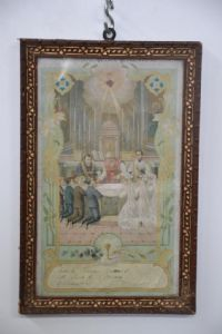 "PRINT ""RECORD OF THE FIRST COMMUNION"" YEAR 1915 REF. 3648"