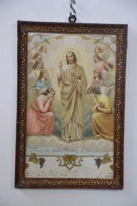 "PRINT ""RECORD OF THE FIRST COMMUNION"" YEAR 1924 REF. 3649"