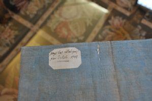 Carta geografica Paesi Bassi Cattolici 1702