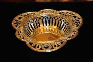 Серебряная корзина