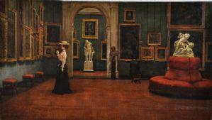Andrea Becchi (Carpi, 15 de novembro de 1849 - Modena, 1926) The Galleria Estense