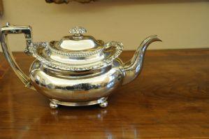 Teapot George IV