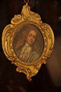 Miniatura su rame Sec. XVIII Ritratto