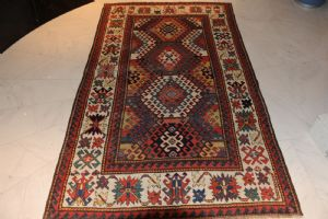 Gorgeous Kazakh – 19th century – collectors piece – approx. 234 x 147 cm