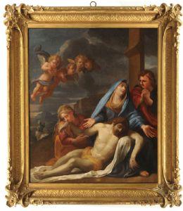 Jean Jouvenet Saint Lò 1644-1717 París y taller. religioso