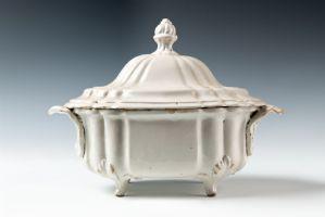 稀有的萨索洛汤碗,达拉里制造