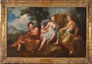 Venus, Love, Bacchus and Ceres