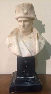 Buste de Napoléon dans le marbre 800
