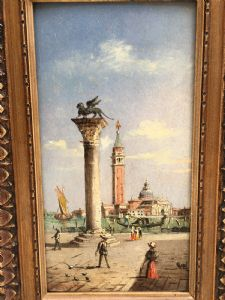 Splendido dipinto olio su tavola firmato MARCO GRUBACS