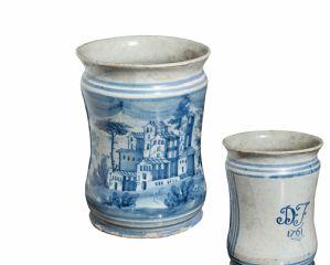 Великие оттенки синего Альбарелло Савона 1761