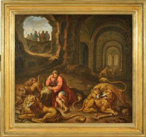 Daniele nella fossa dei leoni