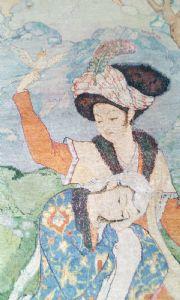 Tabriz 60 Rajes Teppich, Persien, 201 x 125 cm.