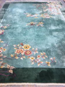 Art Deco carpet, around 1930, 360 x 270 cm