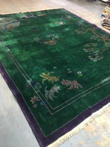 Art Deco carpet, around 1920, 350x275 cm