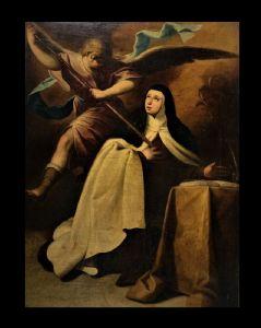 1600年代的意大利学校-圣特雷莎·阿维拉的翻译