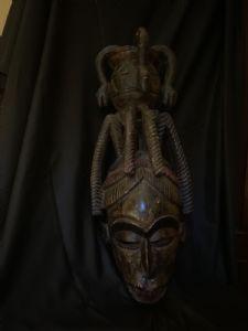 Igbo Nigeria Helmmaske