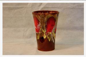 Vallauris vase, 20th century