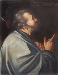 St. Thomas - Maestro Bolognese Sec XVIII
