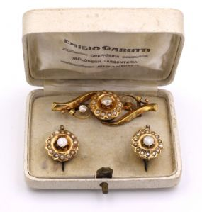 14k Gold Borbonite Straps and Fine Beads' 800