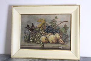 1900年代初期船上的古水果静物画!!!