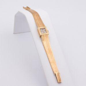 Lady -Le Monde wristwatch in 18k gold