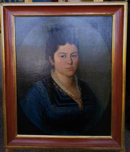 dipinto ritratto Nobildonna