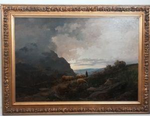 Pintura a óleo sobre tela de Leonardo Roda