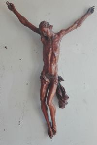German school wooden crucifix