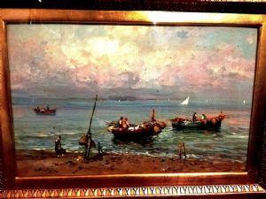 Attilio Pratella (Lugo 1856 - Napoli 1949 )
