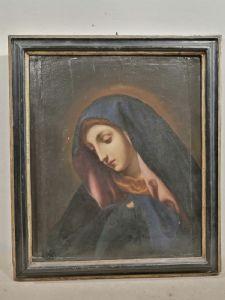麦当娜在17世纪中部意大利面板上