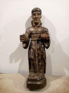 Santo francescano del 1300